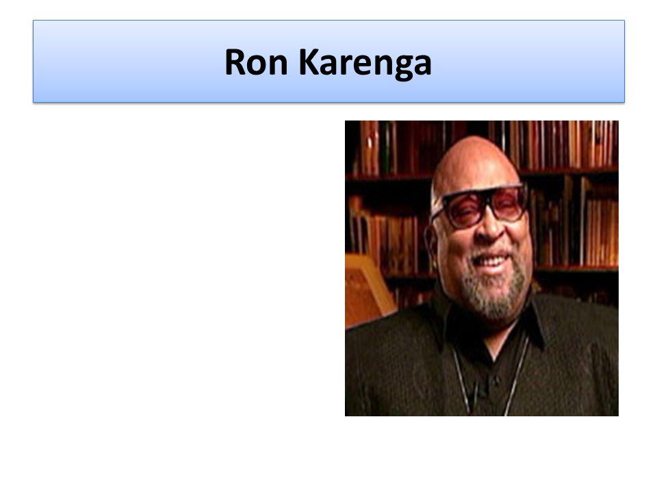 Ron Karenga