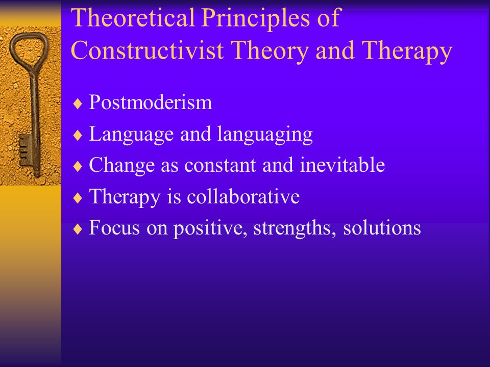 Review Questions  According to Nardone, what is the first ethical stance of the constructive therapist.
