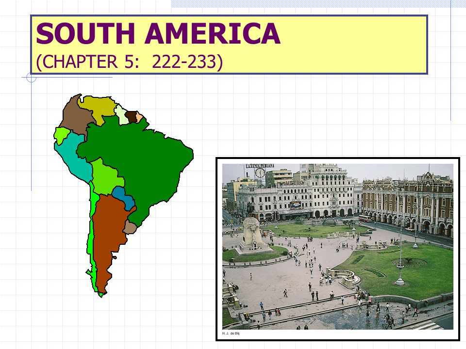 MAJOR GEOGRAPHIC QUALITIES PHYSIOGRAPHY IS DOMINATED BY THE ANDES MOUNTAINS S AND THE AMAZON BASIN.