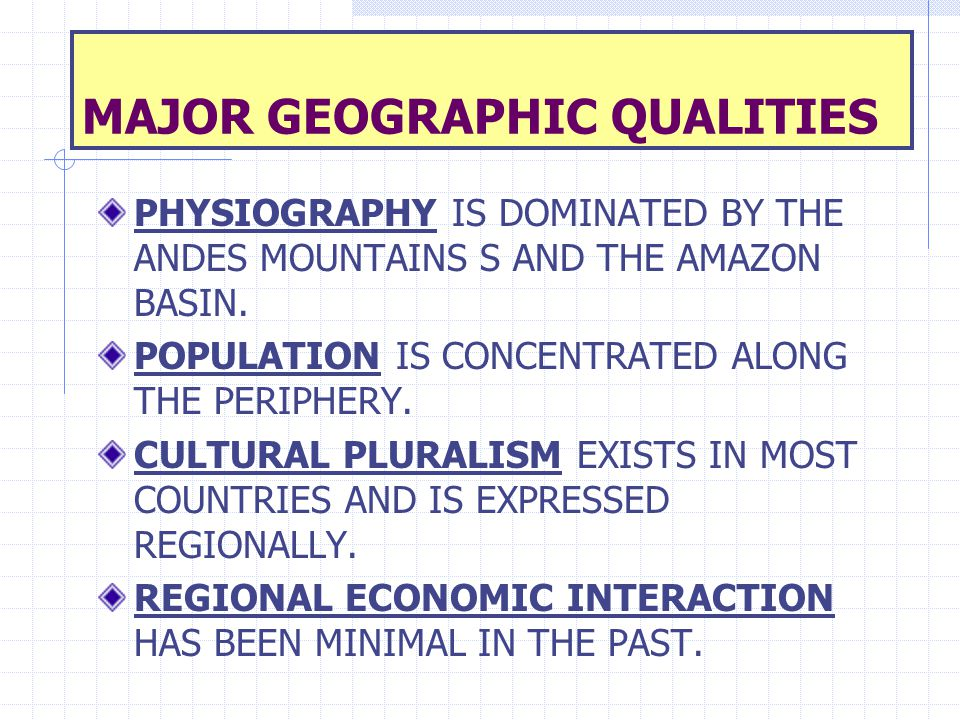 CULTURE SPHERES Undifferentiated Characteristics are difficult to classify.
