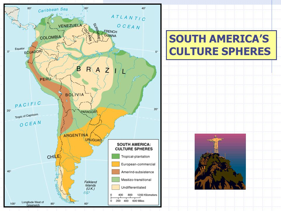 Tropical-plantation Resembles Middle America's Rimland Locations, soils, & tropical climates favor plantation crops, especially sugar.