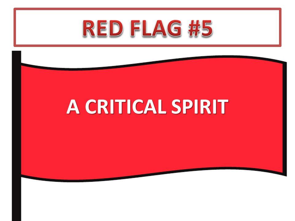 A CRITICAL SPIRIT