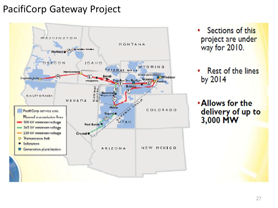 PacifiCorp Gateway Project 27