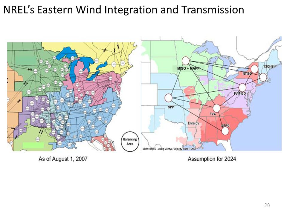 NREL's Eastern Wind Integration and Transmission 28