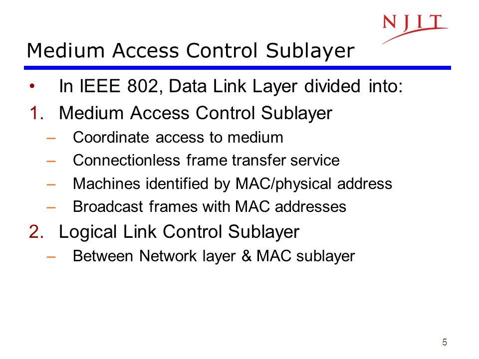 46 IEEE 802.11 Medium Access Control Logic