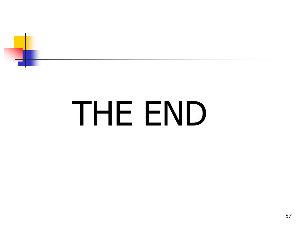 57 THE END