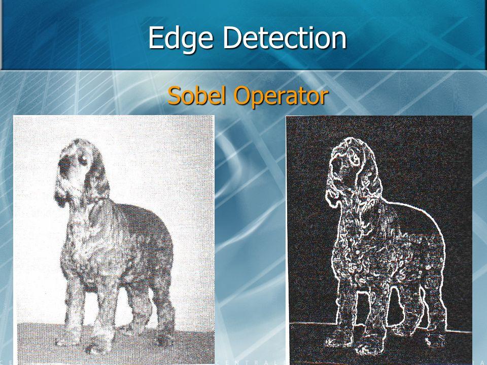 Edge Detection Sobel Operator