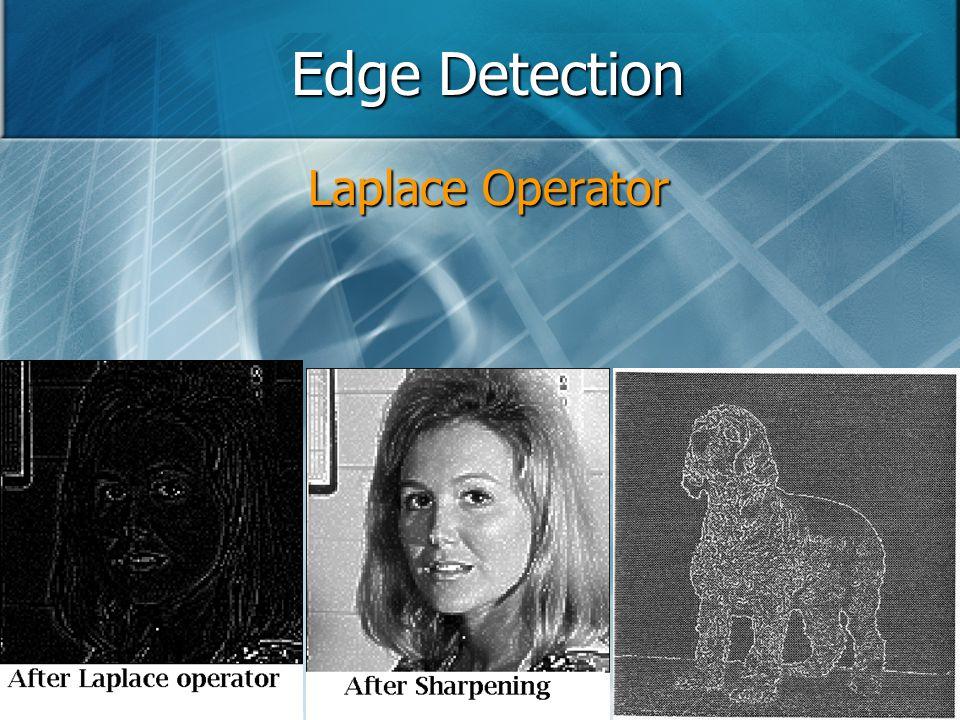 Edge Detection Laplace Operator
