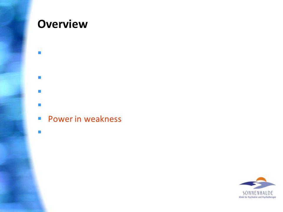 Overview  Extrem I: Gesundheit ist machbar – glaube nur!  Extrem II: Wunder gibt es nicht mehr  Spiritualisierung psychischer Probleme  «Fallschir