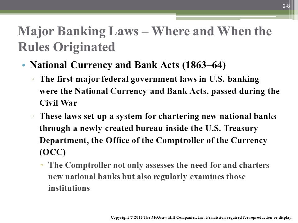 McGraw-Hill/Irwin Bank Management and Financial Services, 7/e © 2008 The McGraw-Hill Companies, Inc., All Rights Reserved.