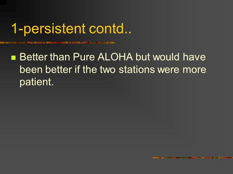 1-persistent contd..