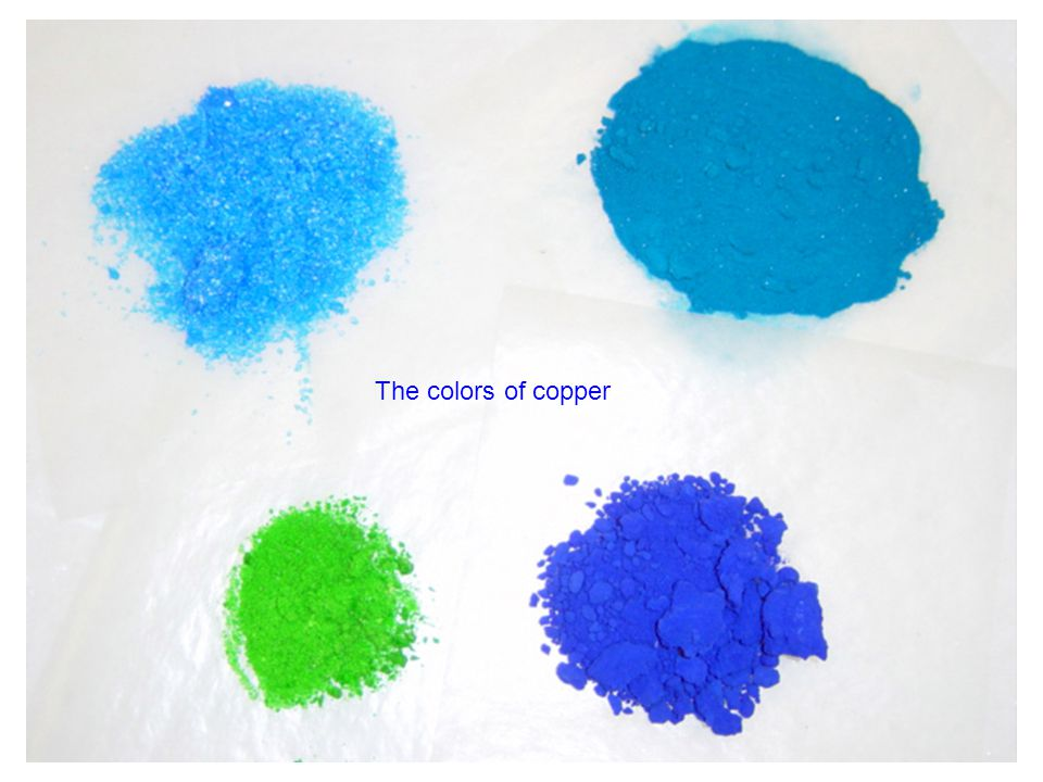 The colors of cobalt