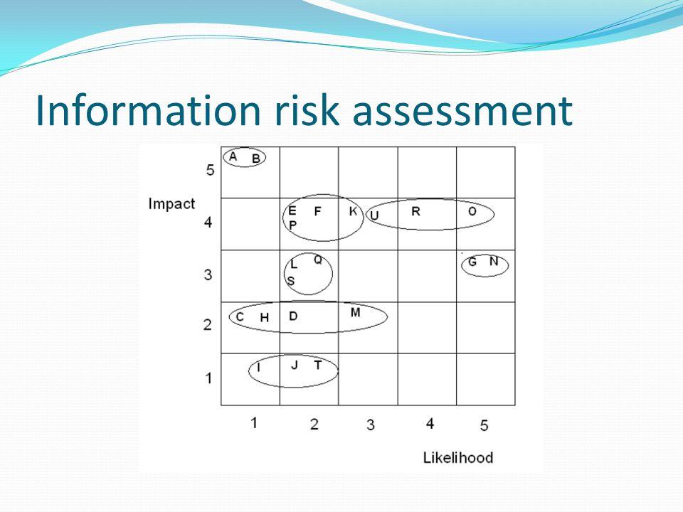 Information risk assessment