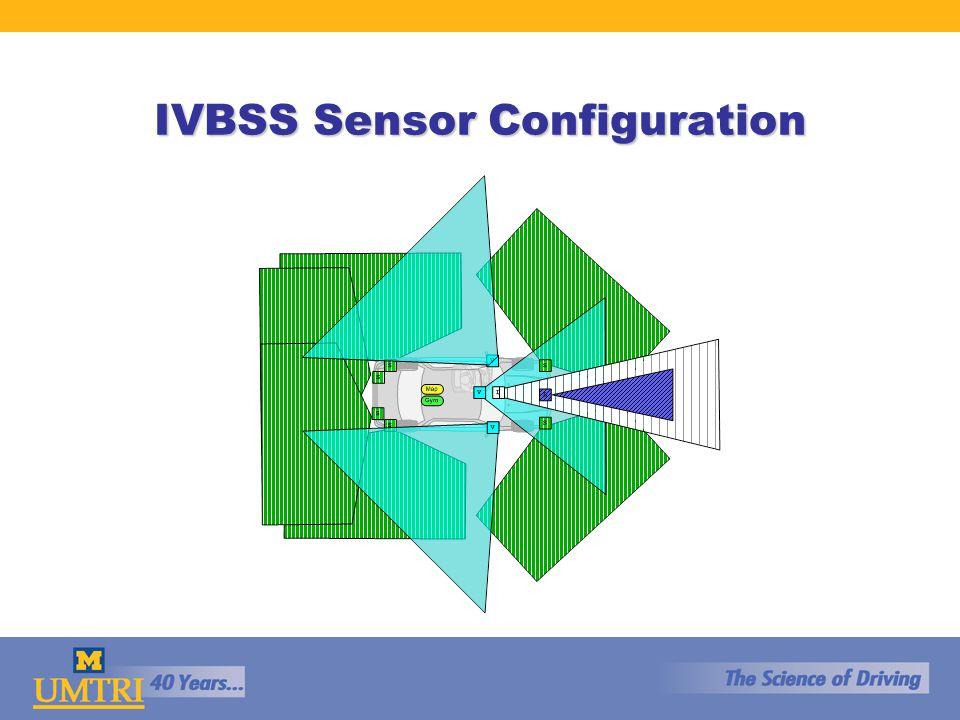 IVBSS Sensor Configuration