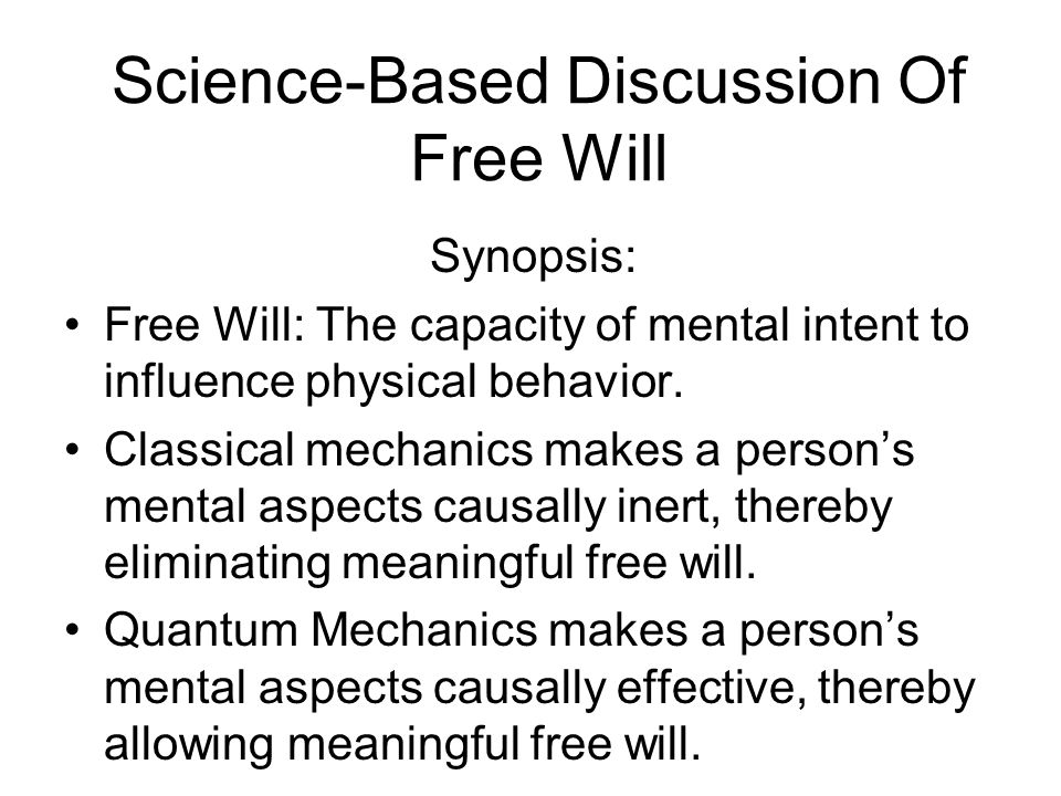 Scientist/philosophers can no longer contend that mentally described things are just the physically described things described in a different language.