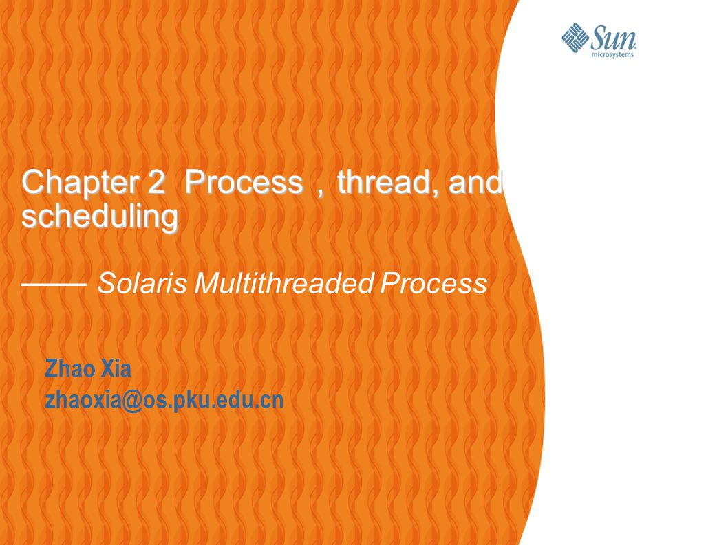 2 Outline  Introduction to Solaris Processes  Multithreaded Process Model  Proc tools