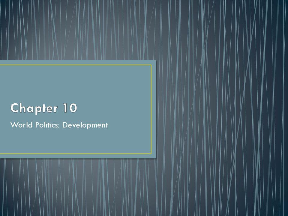 World Politics: Development
