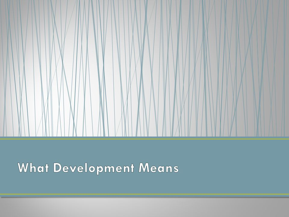 The fundamental obstacle to development is traditional culture; Serves to block the societal transformations needed for rapid economic growth and democratization.
