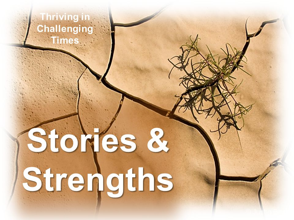 Stories & Strengths Thriving in Challenging Times