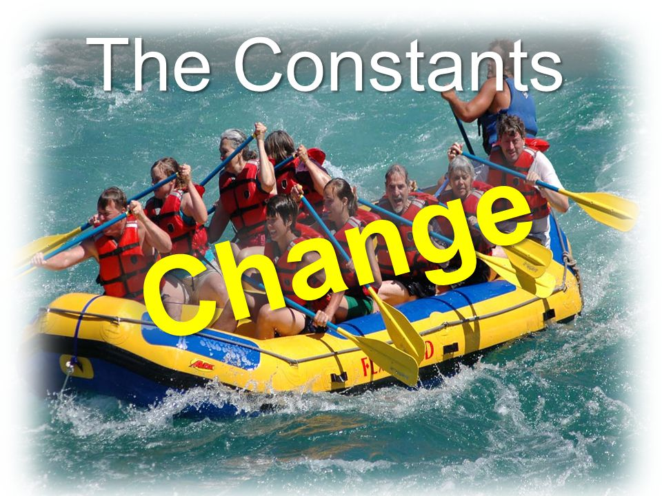 The Constants Change