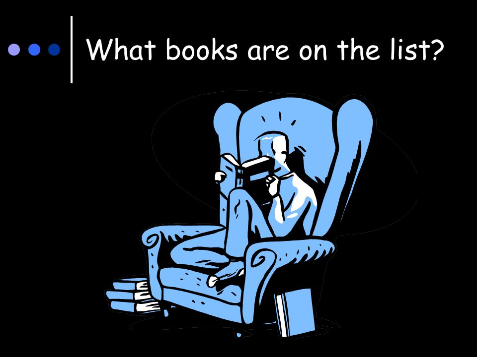 What books are on the list?