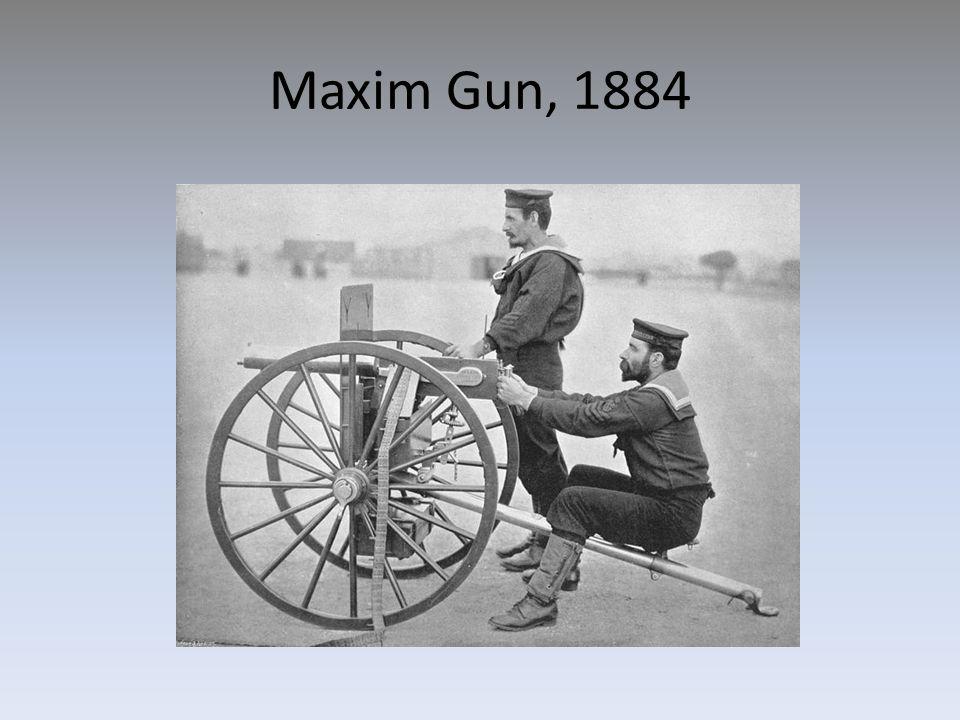 Maxim Gun, 1884