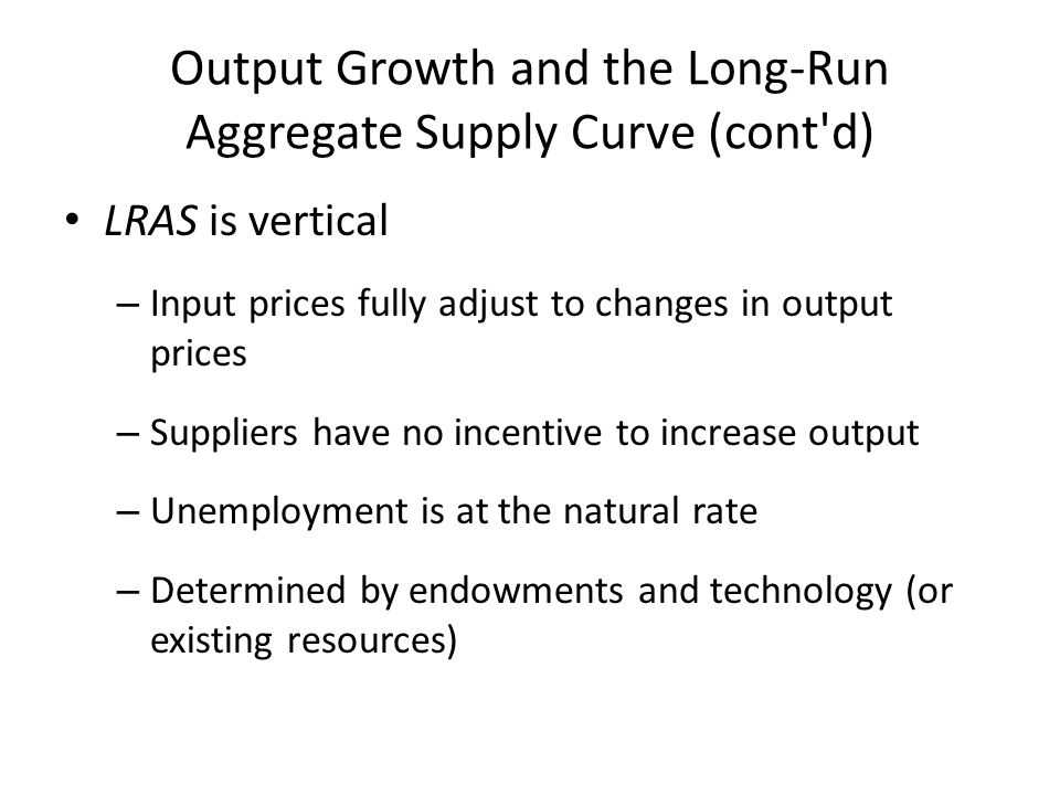 Key: Wage rates and prices will adjust quickly to surplus or shortage 1)In recession- unemployment rate higher than natural rate.