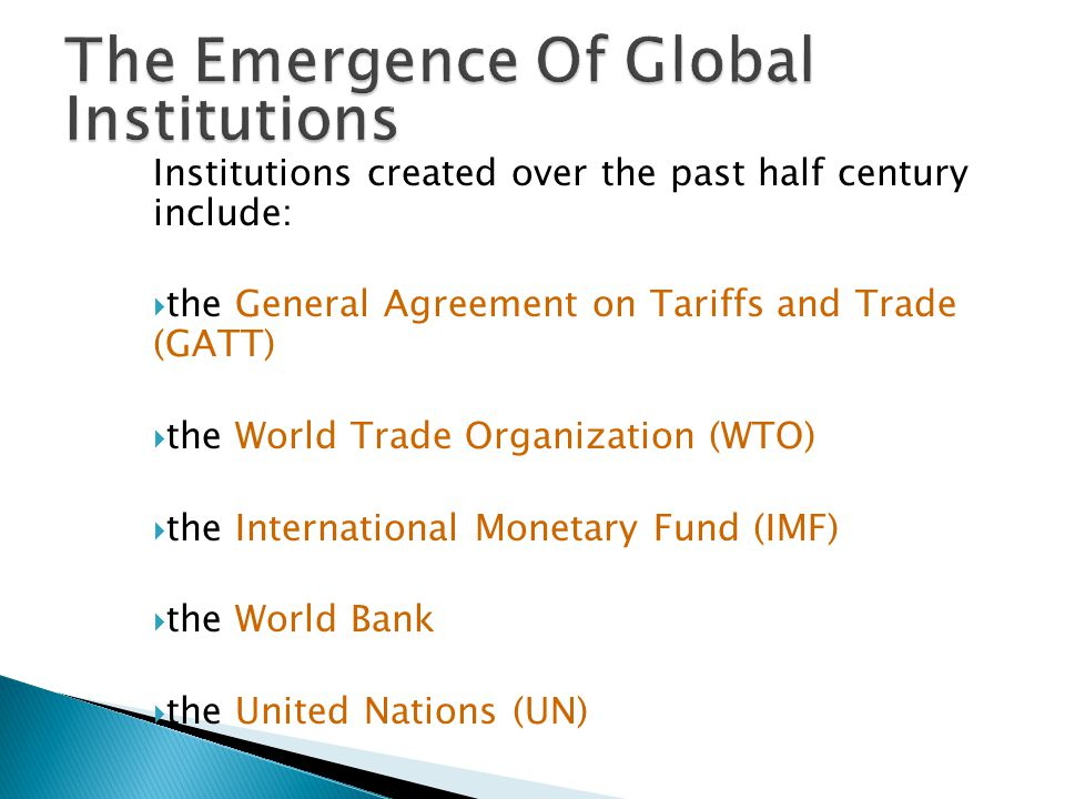 a history of the creation of general agreement on tariffs and trade Get information, facts, and pictures about general agreement on tariffs and trade at encyclopediacom make research projects and school reports about general agreement on tariffs and trade easy with credible articles from our free, online encyclopedia and dictionary.