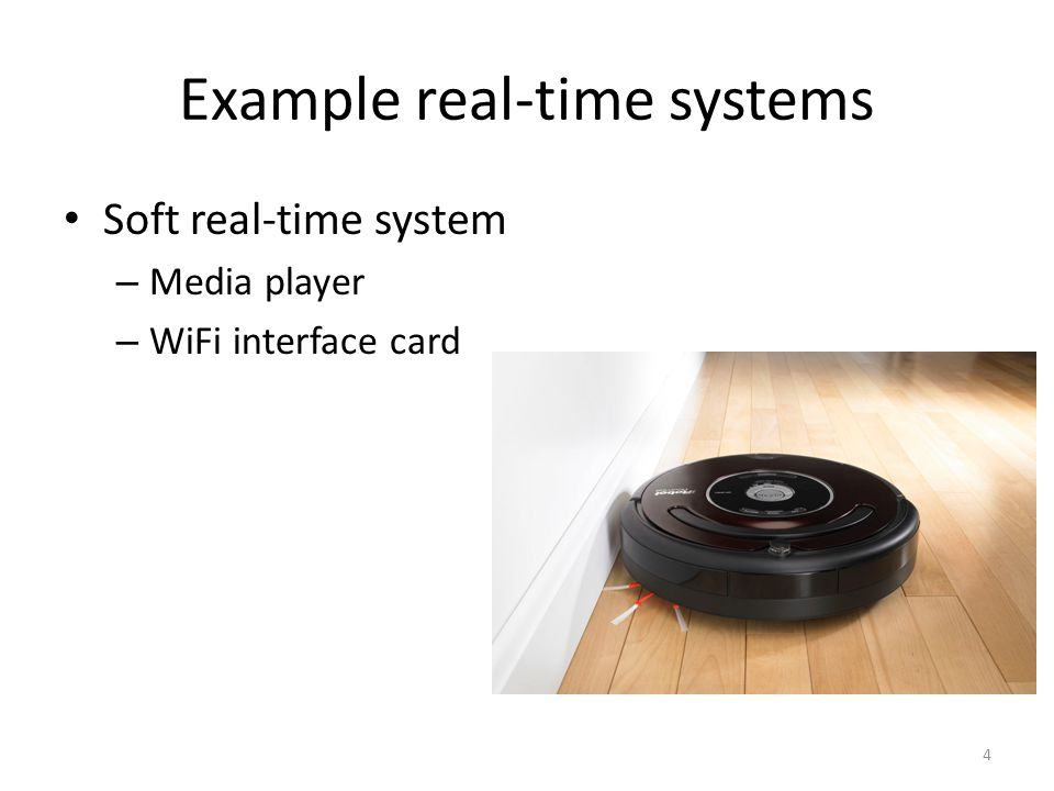 Model of a system 5 Execution of tasks Arrival of requests Key question Can the system finish the requests in time.