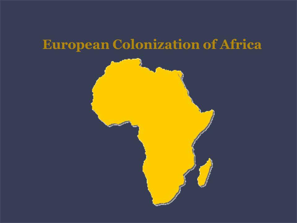 European Colonization of Africa