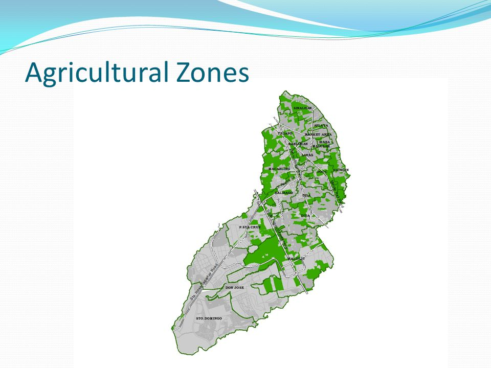 Agricultural Zones