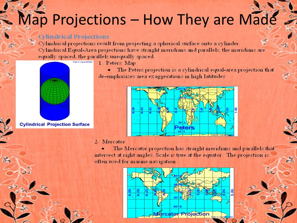 Map Projections – How They are Made