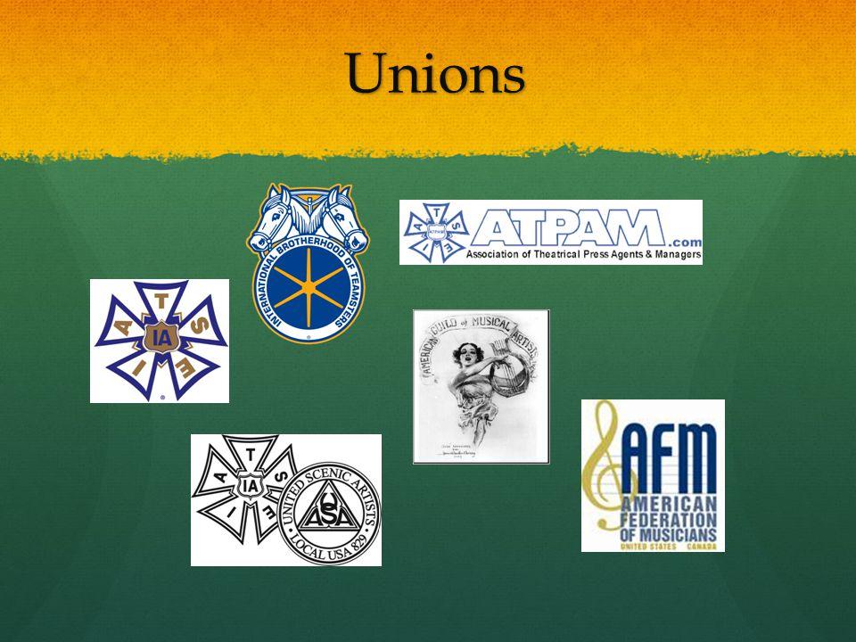 Unions Unions