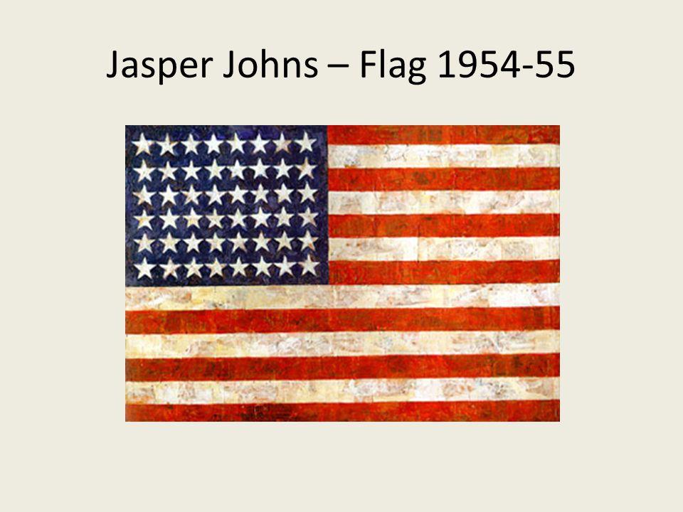 Jasper Johns – Flag 1954-55