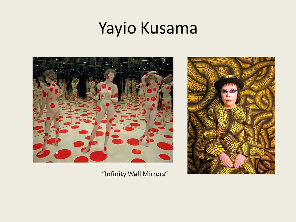 "Yayio Kusama ""Infinity Wall Mirrors"""