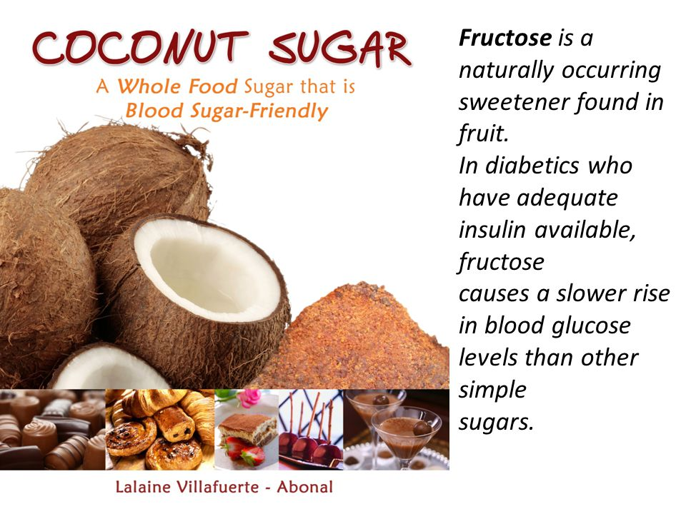 Fructose is a naturally occurring sweetener found in fruit.