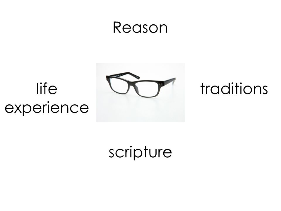 Reason life experience traditions scripture