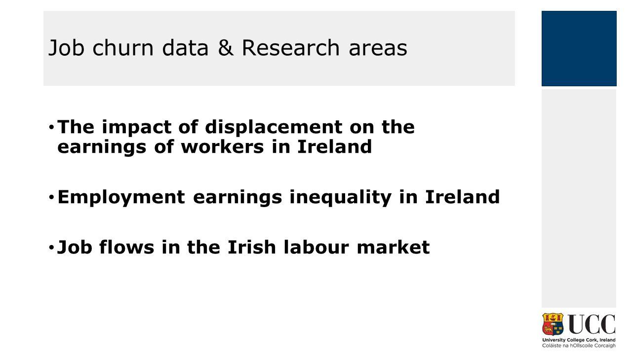 Employment earnings inequality in Ireland