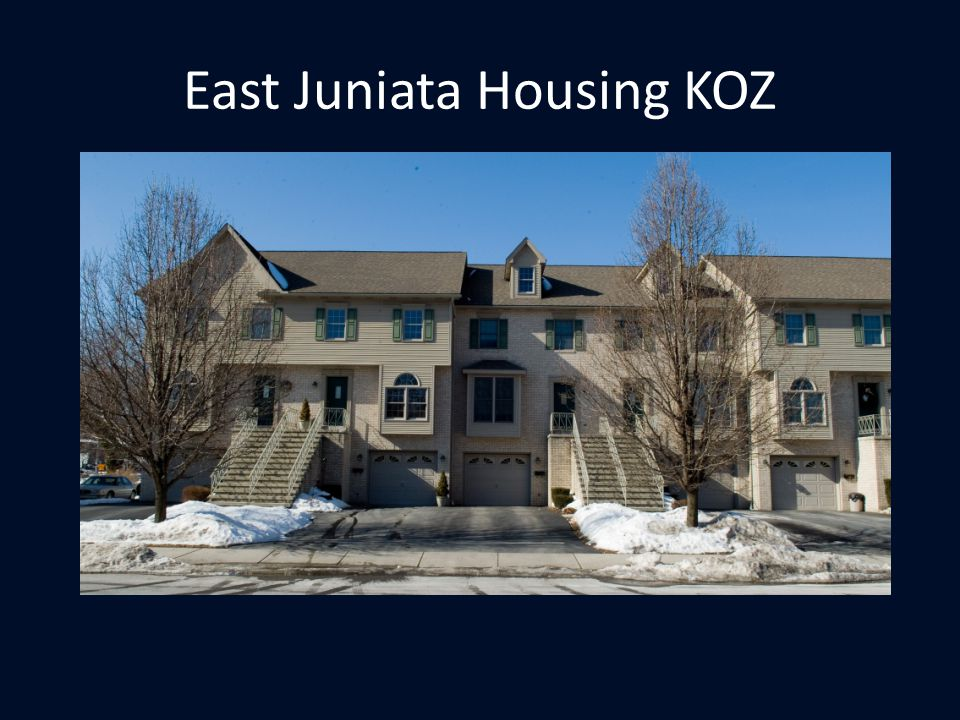 East Juniata Housing KOZ