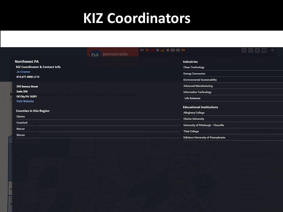 KIZ Coordinators