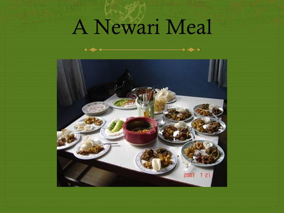 A Newari Meal
