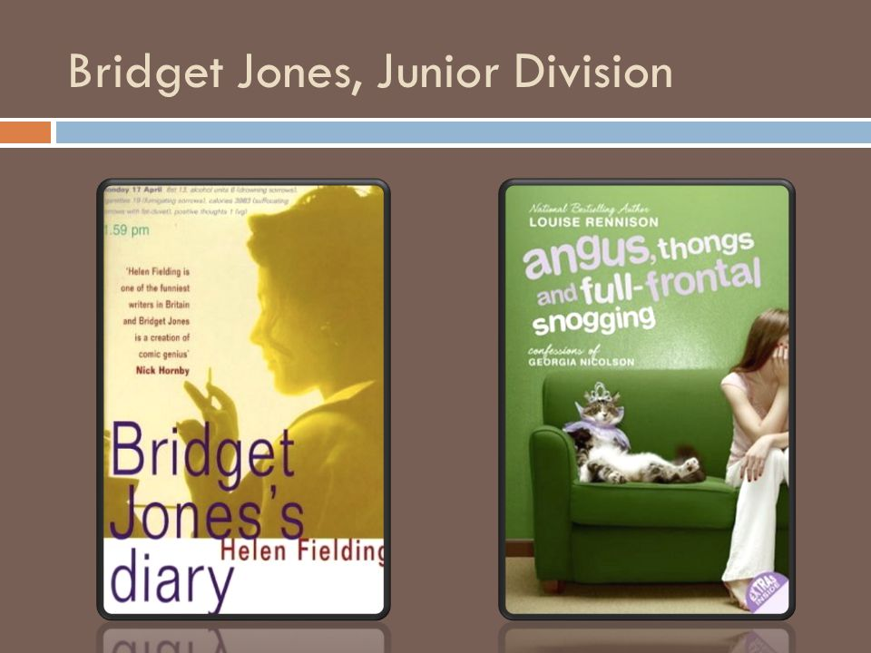 Bridget Jones, Junior Division