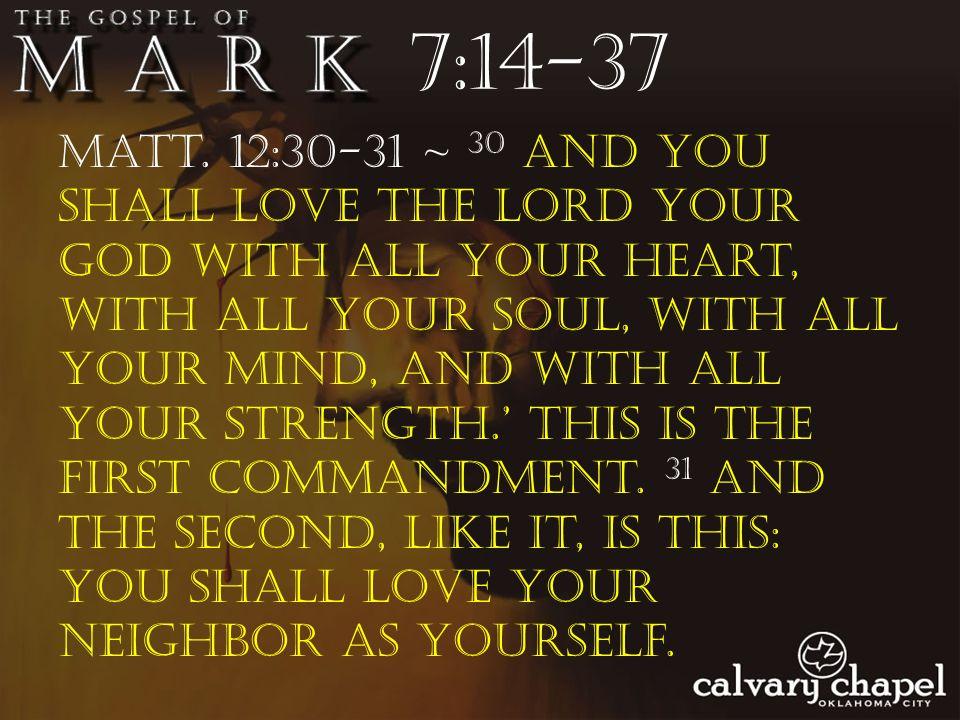 7:14-37 Matt.