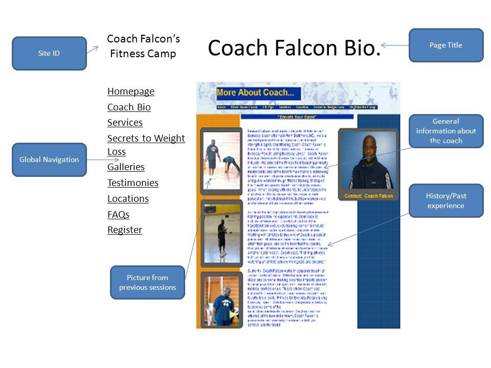 Coach Falcon Bio.