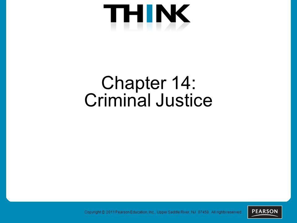 Chapter 14: Criminal Justice