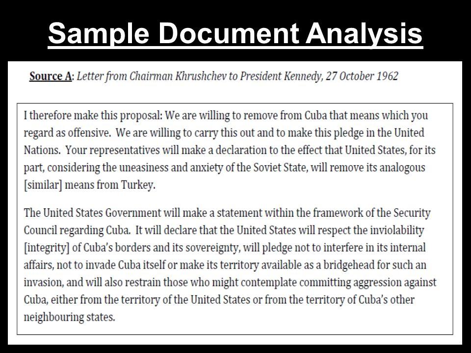 Sample Document Analysis