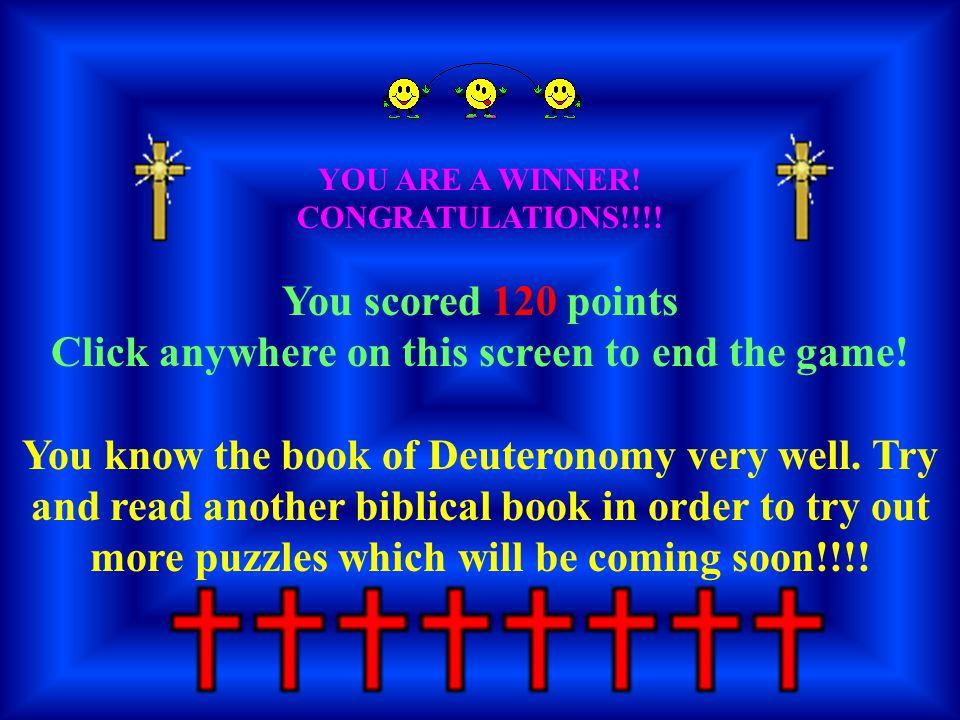 YOU ARE A WINNER. CONGRATULATIONS!!!.
