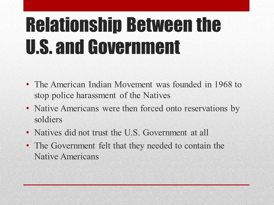 Relationship Between the U.S.