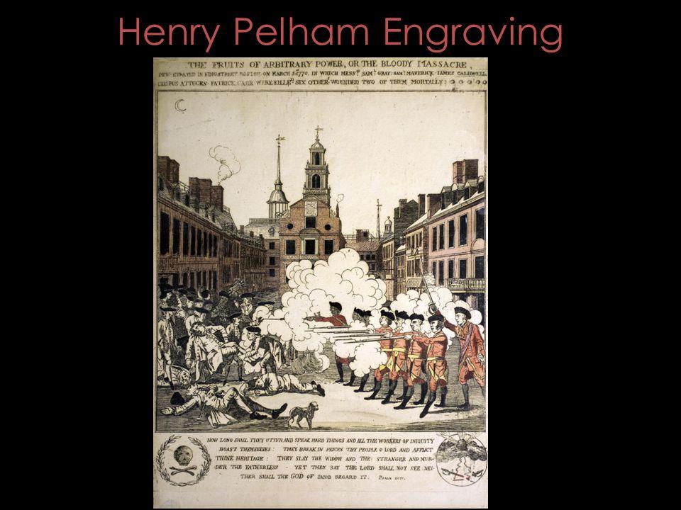 Henry Pelham Engraving
