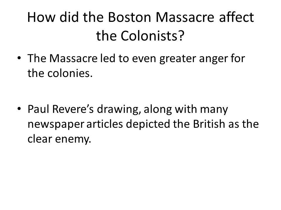 Paul Revere's Boston Massacre Depiction